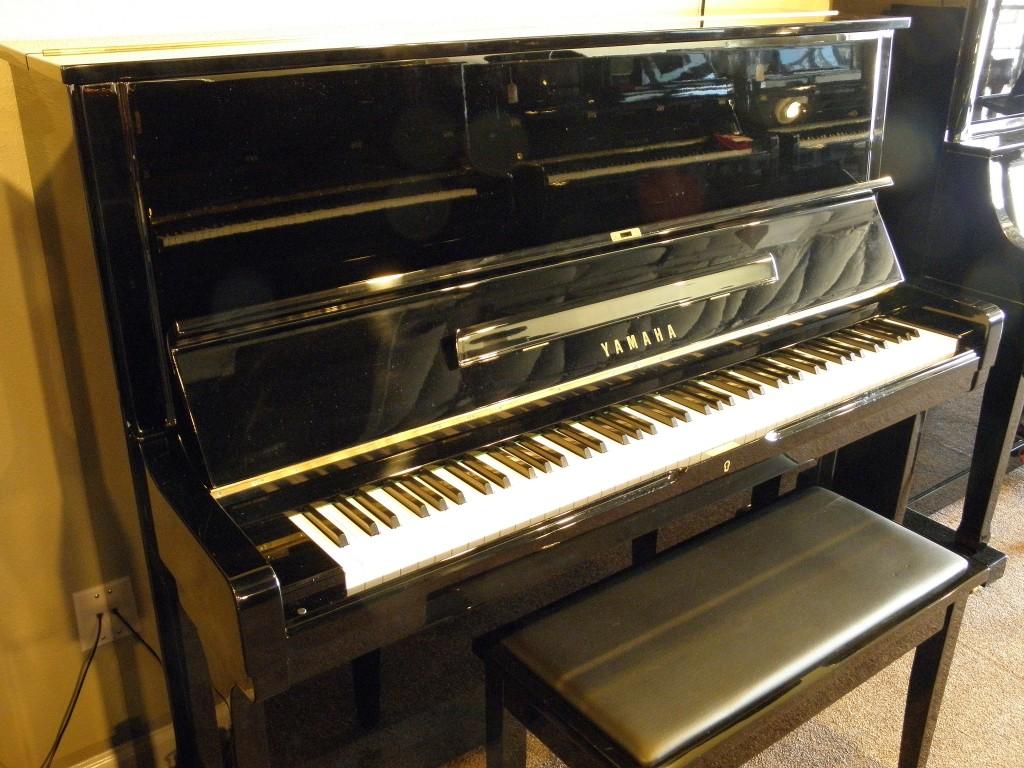 Yamaha u2 3035500 ebony polish musicmasters austin for Yamaha u2 piano