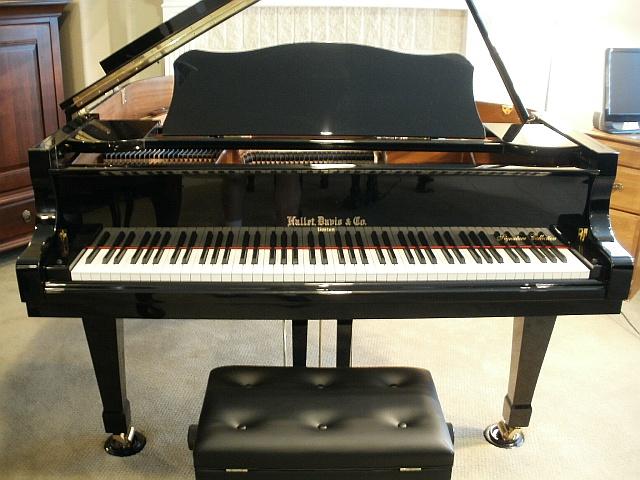 Hallet Davis HS152A 5′ Baby Grand Piano