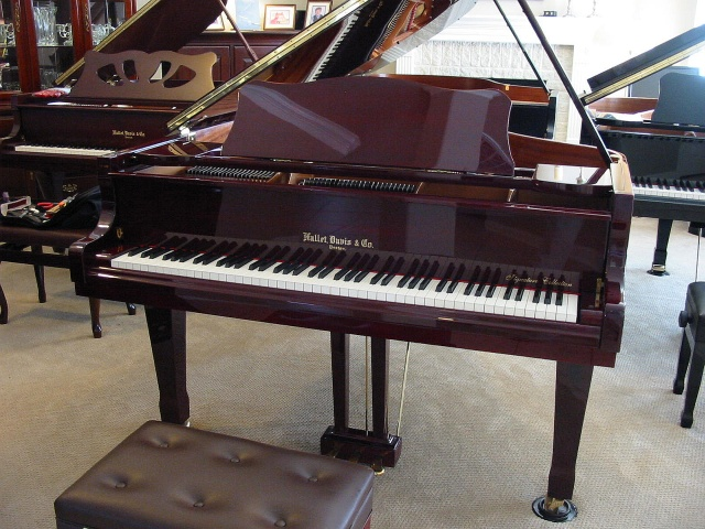 Hallet Davis HS175A 6'1 Artist Grand Piano