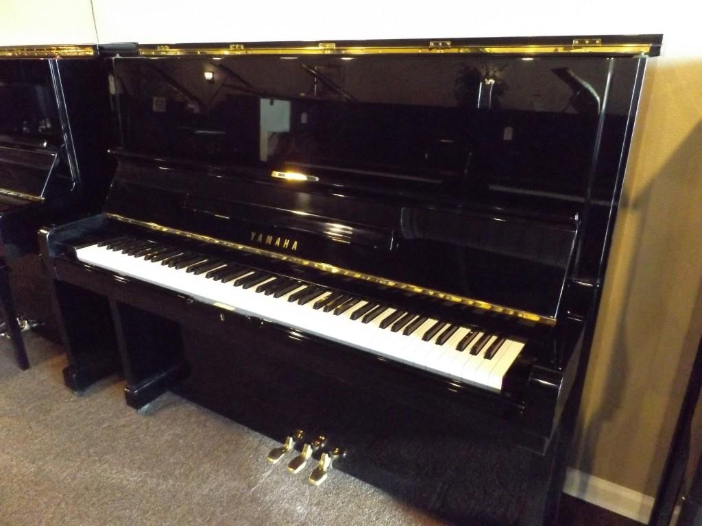 Yamaha u2 2086958 ebony polish musicmasters austin for Yamaha u2 piano