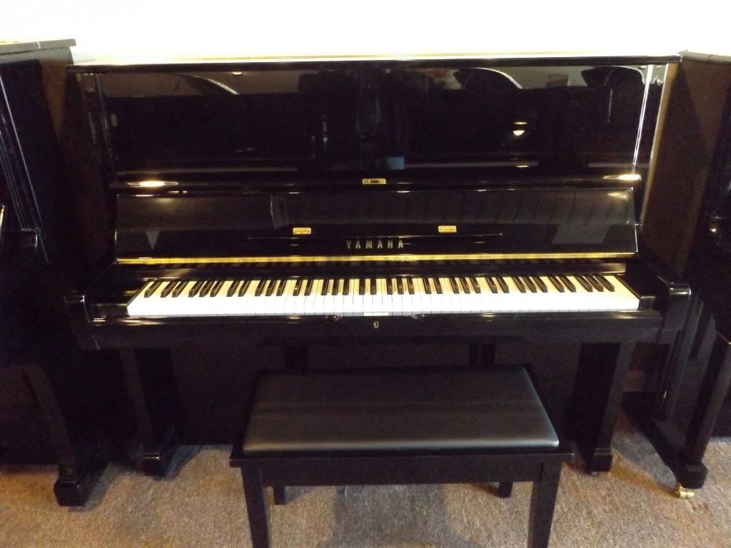 Yamaha u2 2787568 ebony polish musicmasters austin for Yamaha u2 piano